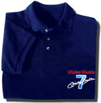 "Mickey Mantle ""Mickey 7"" Embroidered Golf Shirt"