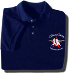 "Mickey Mantle ""Switch-Hitter"" Embroidered Golf Shirt"